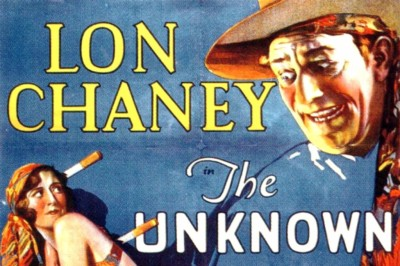 Countdown to Halloween Day 3 - The Unknown (1927)