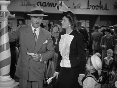 Nick and Nora Go to the Races in Shadow of the Thin Man (1941)